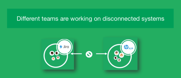 working with teams with disconnected systems
