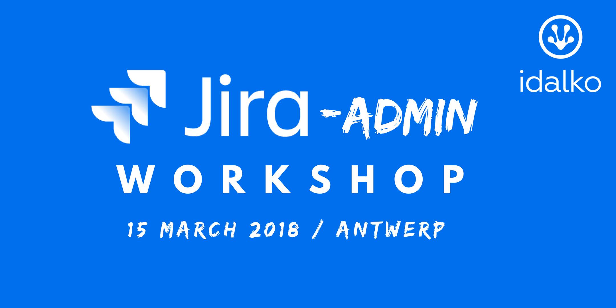jira admin workshop