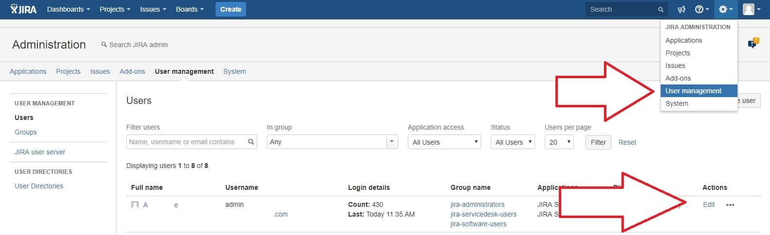 Deleting users in Jira for GDPR