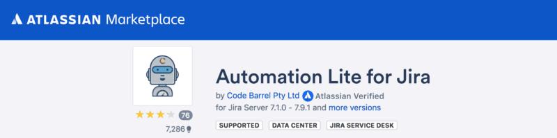 free jira add on automation Lite