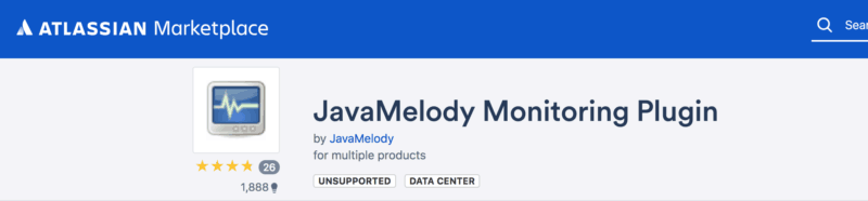 free Javamelody monitoring plugin for jira