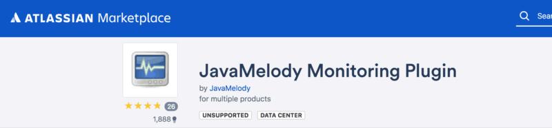 free Javamelody monitoring plugin for jira