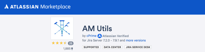 Jira plugin AM Utils free
