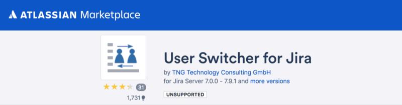 Free jira app switcher for jira