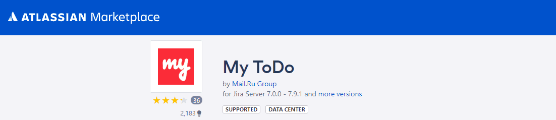 My ToDo plugin for Jira free