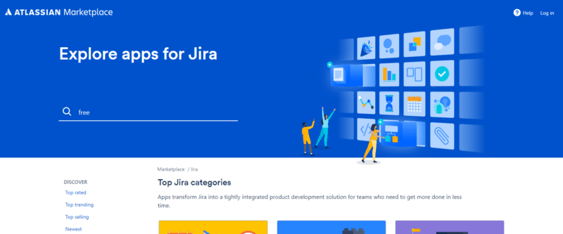 atlassian marketplace for free jira add-ons