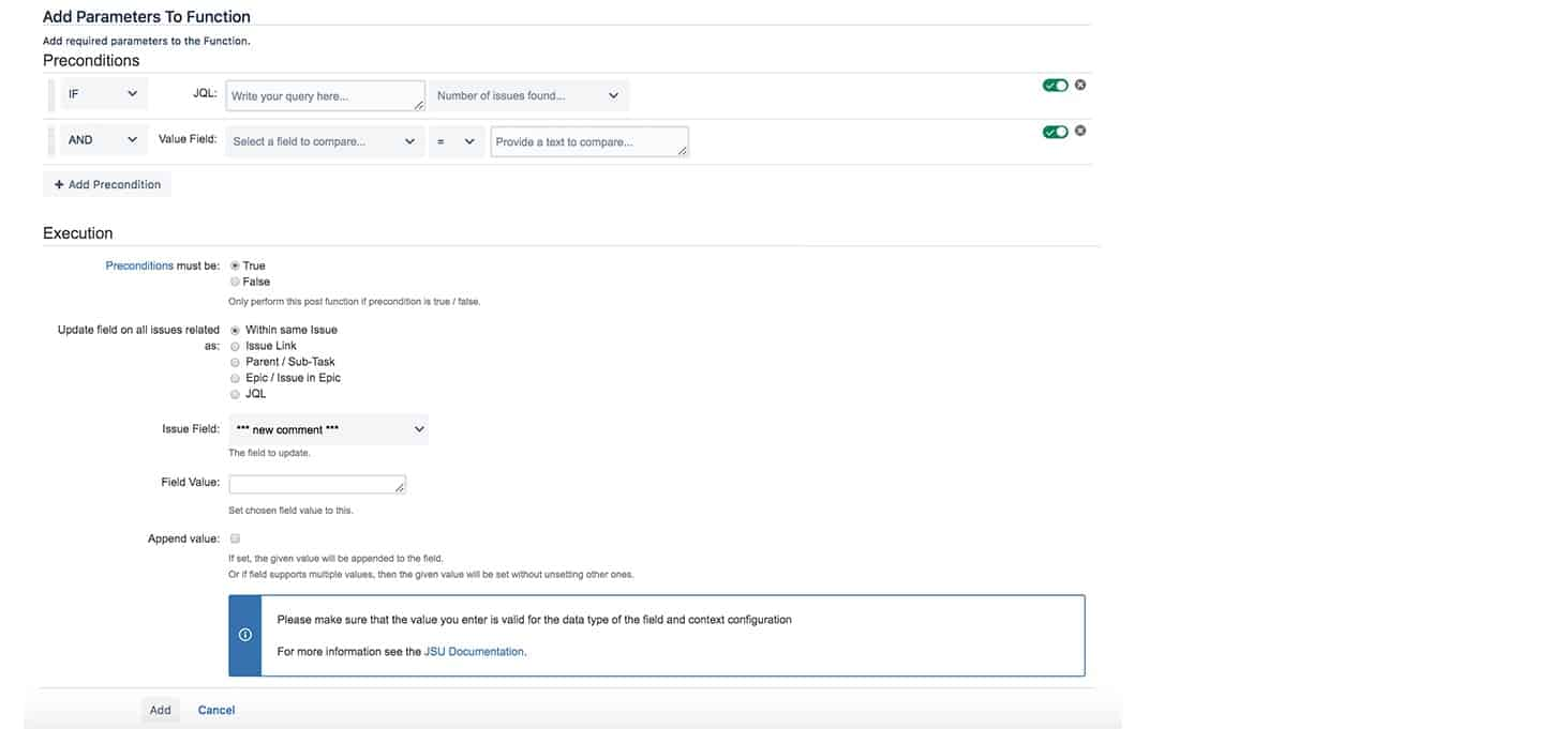 JSU Automation Suite for Jira Workflows