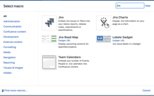 Connect Jira and Confluence