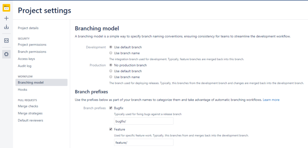 Optimize branches in Jira