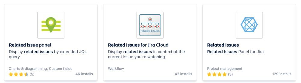 Watching related issues in jira