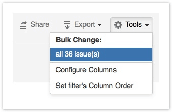 how to watch Jira issues in bulk