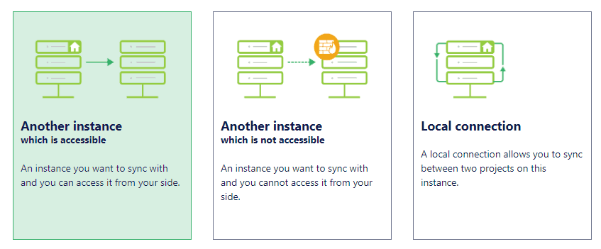 Jira Sync connection type