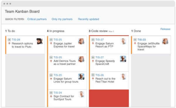 What's the difference between a Jira dahboard and a board