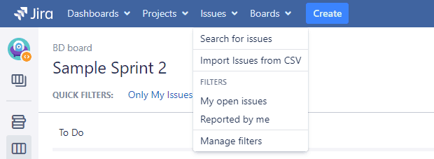 Jira Query Language Interface