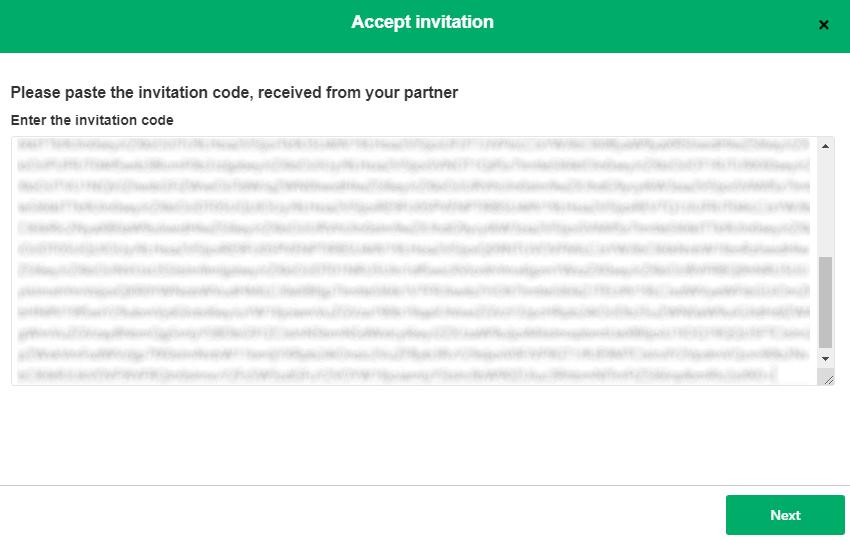exalate invitation code