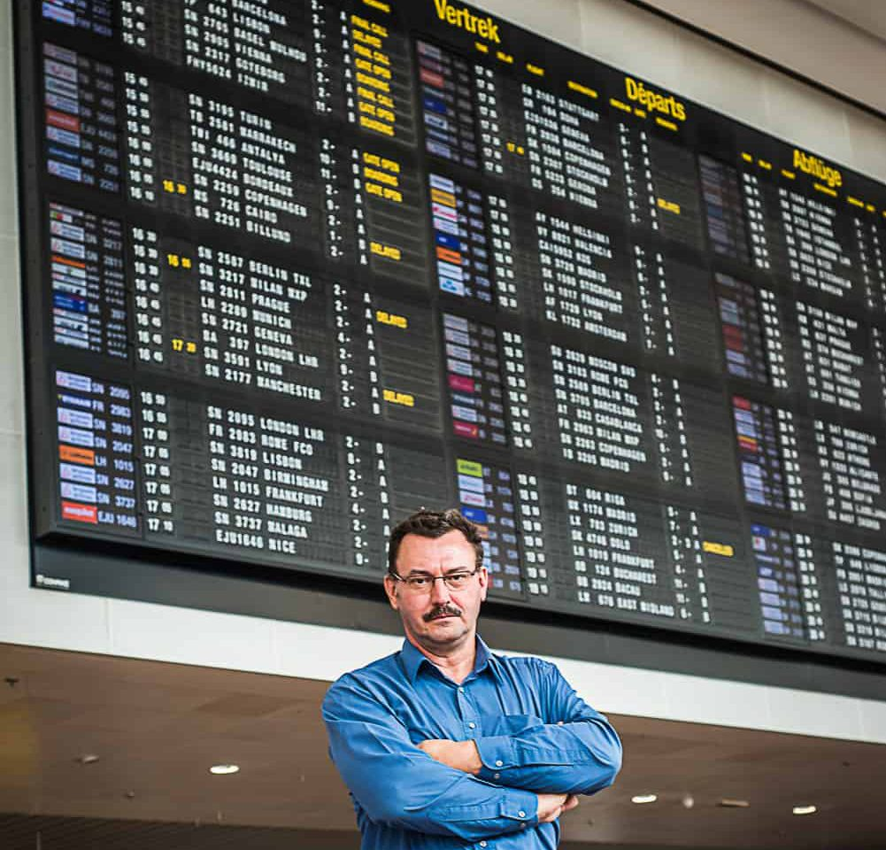 managed services idalko brussels airport