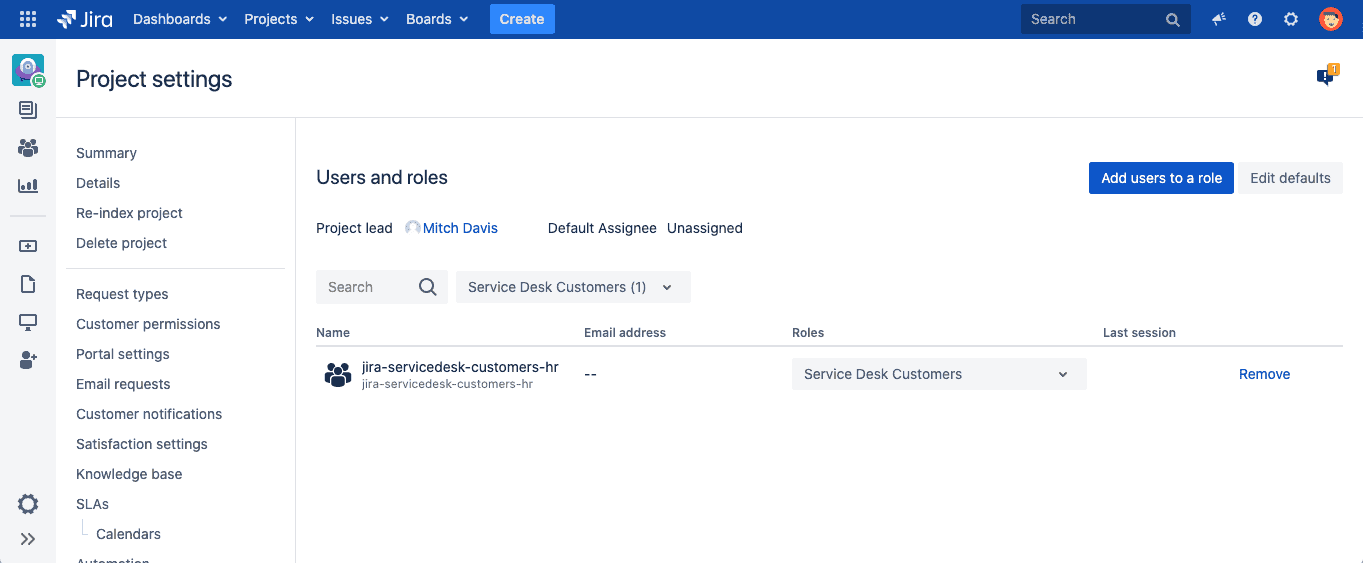 creating groups in jira service desk