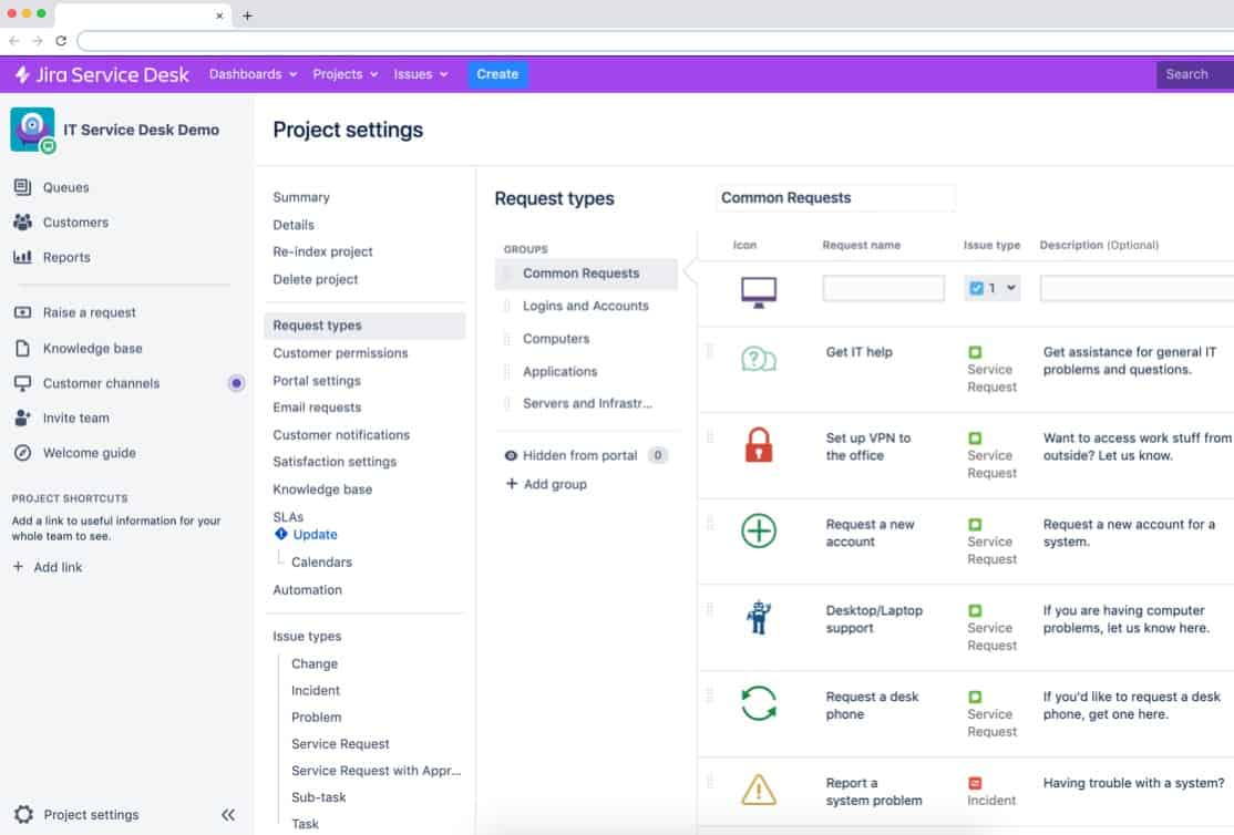 project configuration app for jira