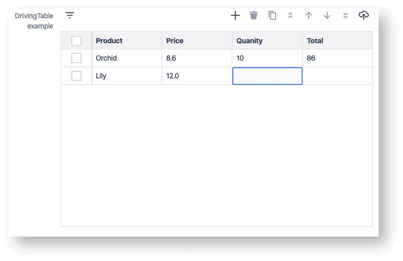 manage data in jira tables