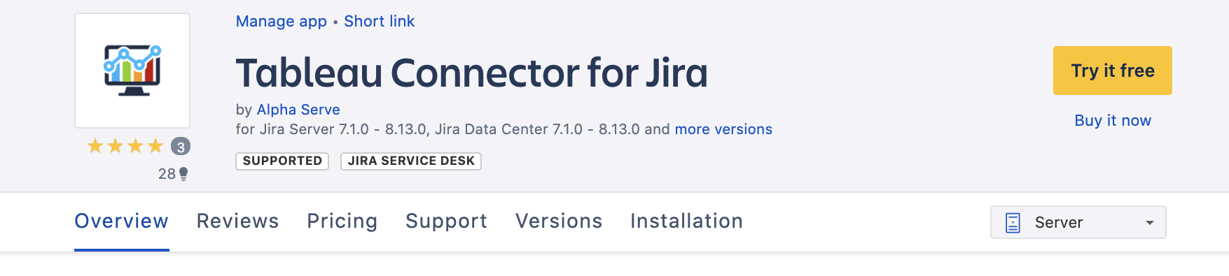 tableau connector for jira