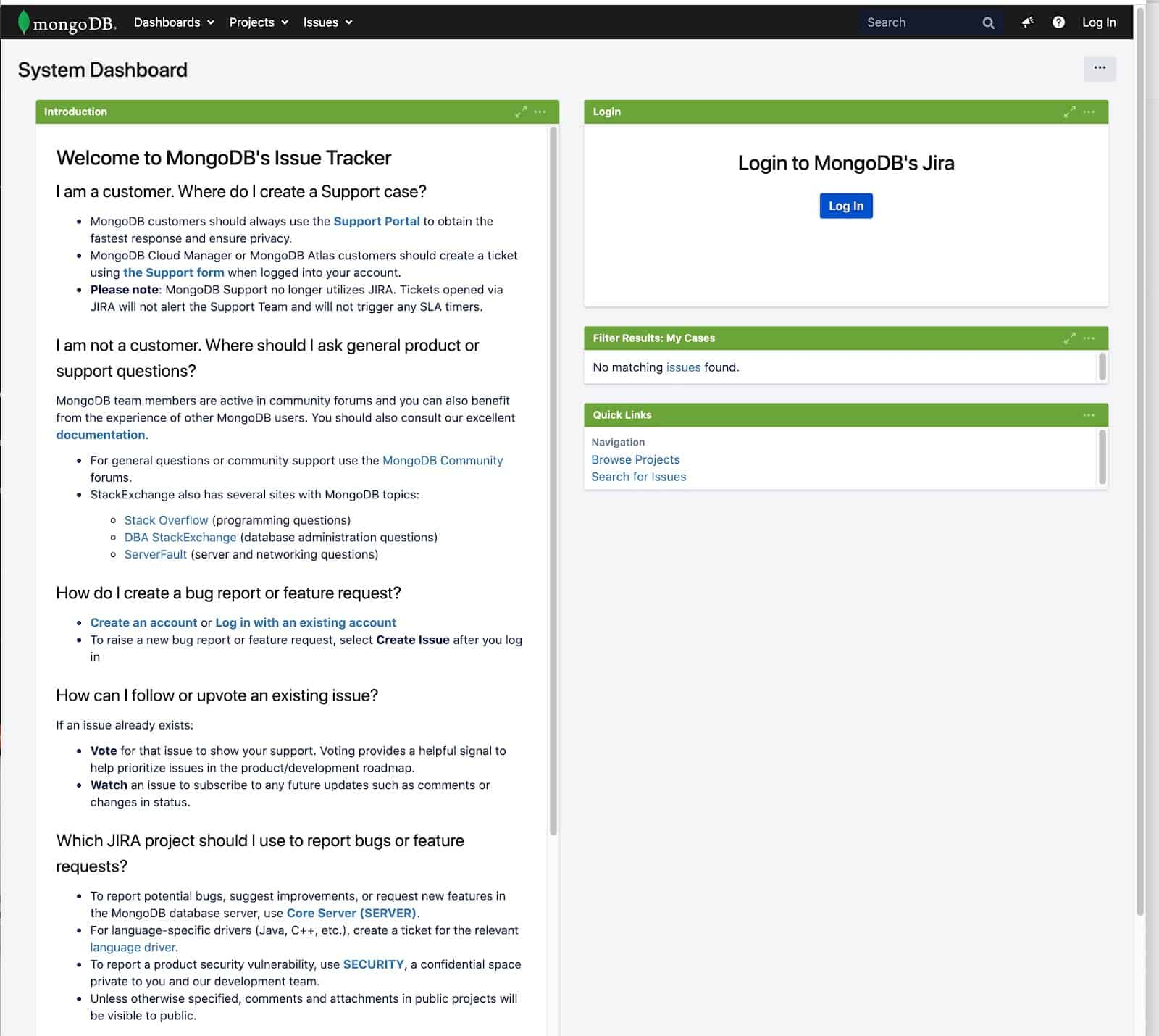 MongoDB SSO login