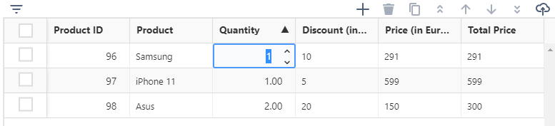 inline editing in Jira tables