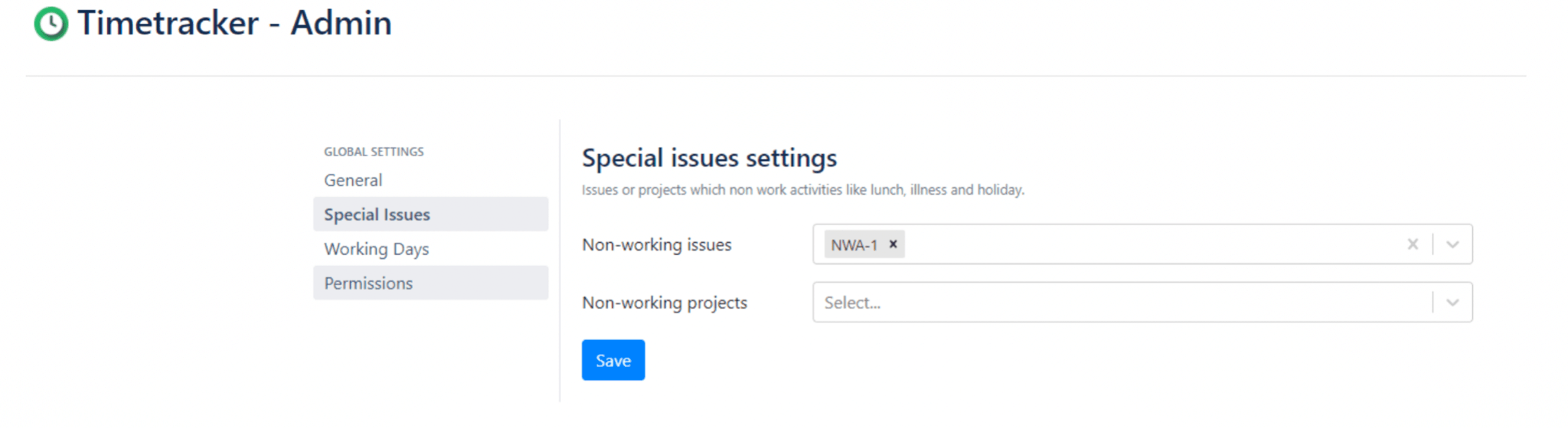 time tracking in jira special issues