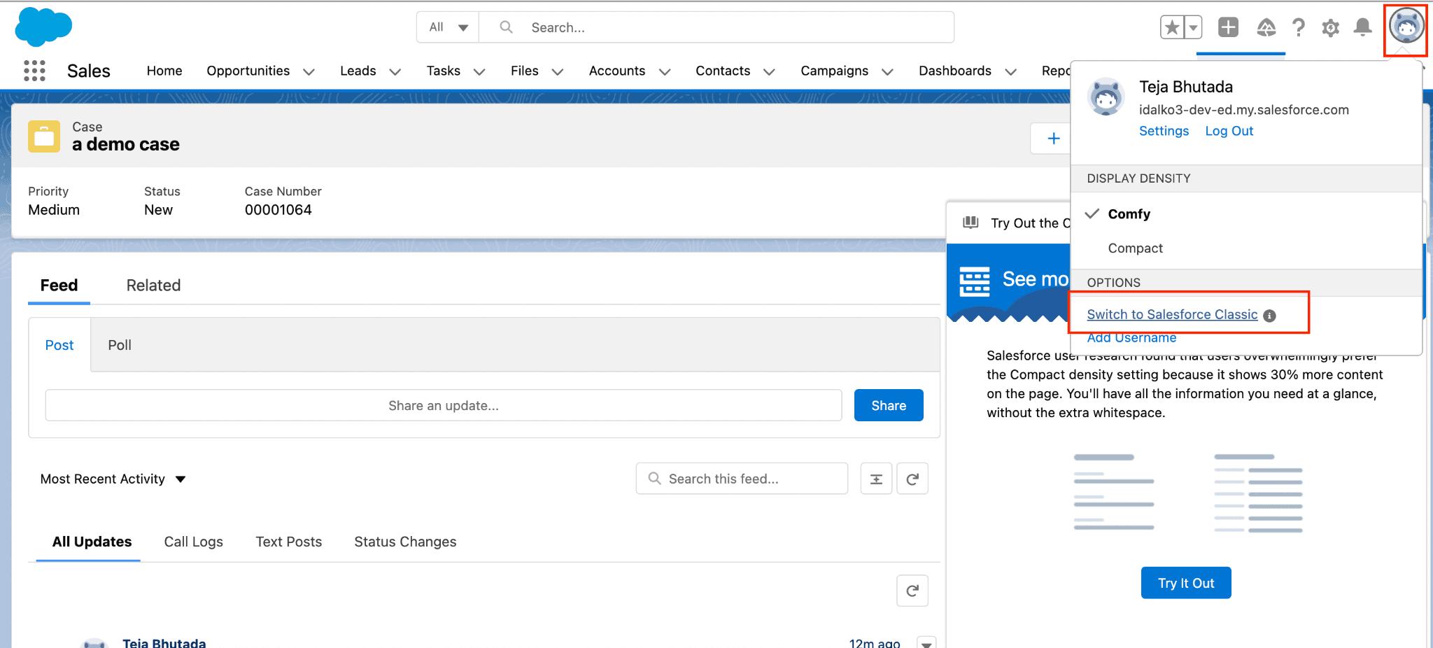Salesforce Tracker URL