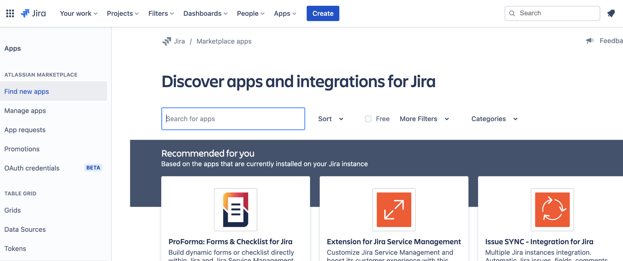 apps and integrations for jira