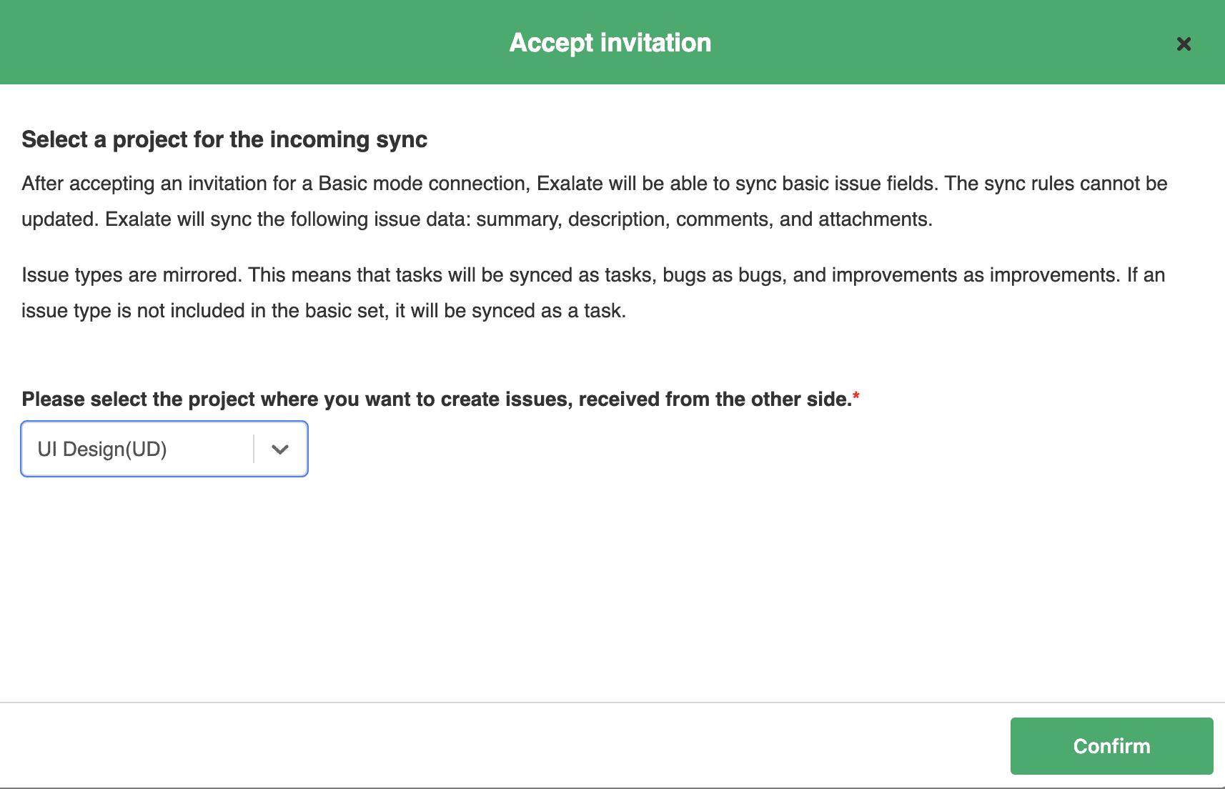 accept Jira Salesforce Integration